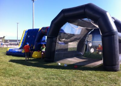 Soccer Shoot Inflatable Target Tunnel